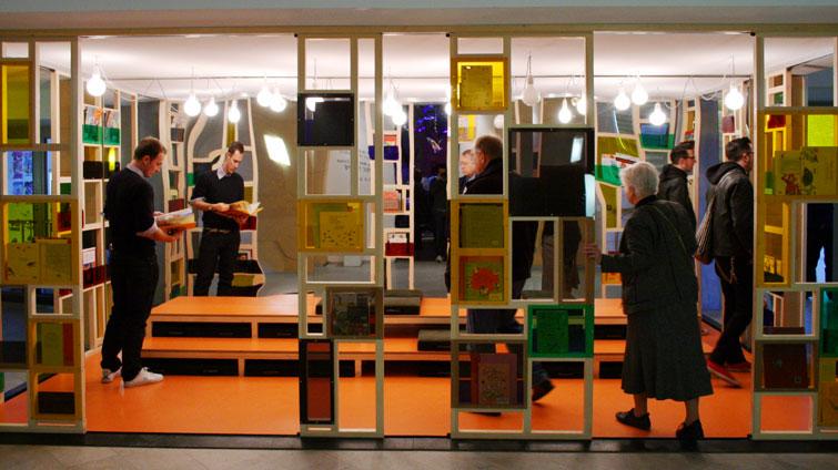 new reading space at moderna museet imaginary life