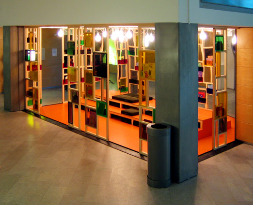 New reading space at moderna museet imaginary life for Reading space design