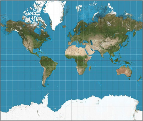 The Gerardus Mercator's projection was made for marine navigation.