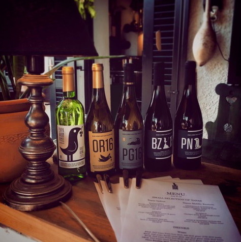 A selection of PAP Wines.