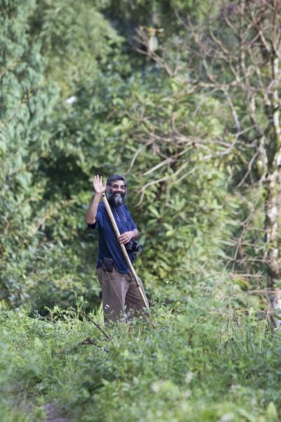 11. Ajay gardening