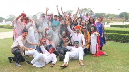 Holi celebration, March 2018